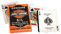 Mazzo di carte Harley Davidson Oil Playing Cards
